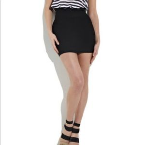 Herve Leger Bandage Mini Skirt